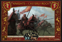 A Song of Ice and Fire Miniature Game Lannister Knights of Casterly Rock NIB $28.00