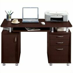 PC Computer Desk Laptop Table Study Writing Workstation Home Office wDrawer $184.99