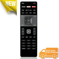 XRT122 for Smart TV Vizio Remote Control w Amazon Netflix IHeart Radio APP Key $6.50
