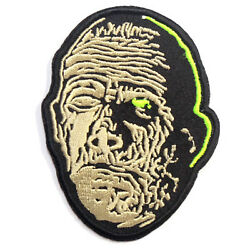 Authentic UNIVERSAL The Mummy Head Embroidered Sew On Glue On Patch NEW