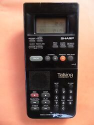 Vintage SHARP Talking Handset Remote For 80's Video Recorder