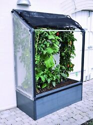 Portable Mini Greenhouse Extra Tall 5' W Raised Bed Planter Grow Plant Outdoor