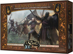 A Song of Ice and Fire Miniature Game Bolton Cutthroats NIB $28.00