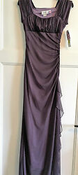 NEW w TAGS purple formal prom homecoming cruise formal party dress 3 4 $35.00