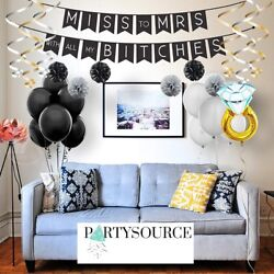 Bachelorette Party Decorations Kit Bridal Shower Supplies Miss To MrsTiara $16.50