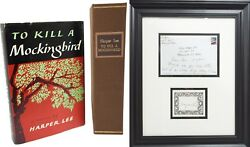 To Kill a Mockingbird Twice Signed Harper Lee Great First Edition 1st Printing