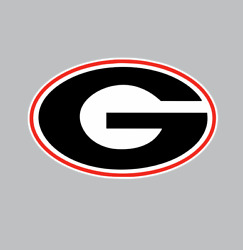 Georgia Bulldogs College Football NCAA Color Sports Decal Sticker Free Shipping
