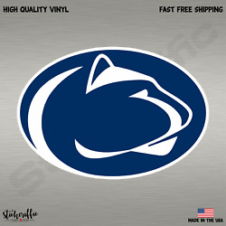 Penn State College Football NCAA Color Sports Decal Sticker Free Shipping
