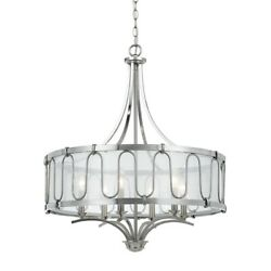 Cal Lighting Vincenza Metal Chandelier Steel Smoke 30quot; FX 3646 6 $499.99