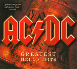 2CD ACDC - Greatest Hits Collection Music 2CD Hell's Hits by ACDC