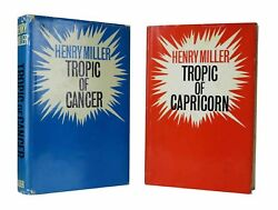 Henry Miller – Tropic of Cancer  Tropic of Capricorn – First UK Editions Signed