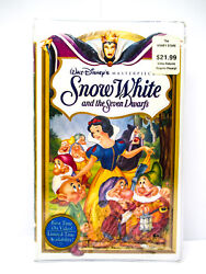 Snow White and the Seven Dwarfs - VHS #1524 Walt Disney 1994 Masterpiece SEALED