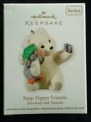 Hallmark SNAP HAPPY FRIENDS - #11 in the Snowball and Tuxedo series - Dated 2011