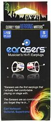 Earasers Musicians Plugs Small $9.99