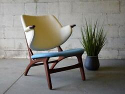 Mid Century MODERN Penguin style LOUNGE CHAIR