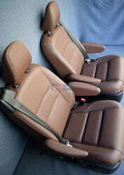 2017 Toyota Sienna XLE Touring 2nd Row Bucket Seats Brown Leather