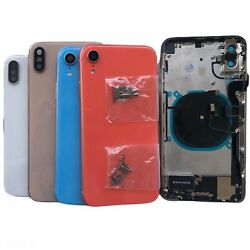 NEW Back Glass Housing Cover Frame Assembly For iPhone 8 Plus X XS Max XR 11 Pro $60.40