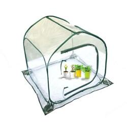 Portable Clear PE Warm Greenhouse Cover Flower House Mini Gardening Plant Flower