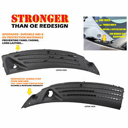 Left Right Upgraded Outer Windshield Window Wiper Cowl Cover Panel For Ford F150