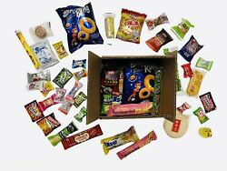 35 Piece Snack Box Asian Japanese Chinese Korean Variety Treat Tester Sample Lot