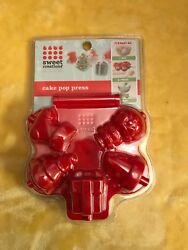 lollipops Sweet Creations by Good Cooks Christmas Cake Pop Press making