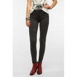 KILL CITY GRAND ILLUSION OVERDYED AND HAND ROLLER PRINTED SKINNY JEANS