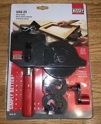 BESSEY STRAP CLAMP VAS-23 NewOld In Package W. Corner Clamps FREE SHIPPING!