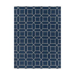 Surya LGO2043-811 Lagoon Outdoor Rug Blue and Neutral