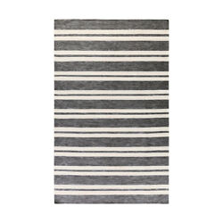 Surya EVR1000-7696 Everett Outdoor Rug Gray and Black