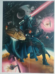 STAR WARS. Litografia Ken Stacey- Gifted Images. 1994- copia 234500
