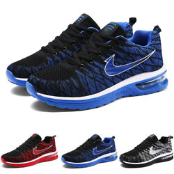 Men's Air Sneakers Sports Running Shoes Casual Tennis Mesh Shoes Breathable USA