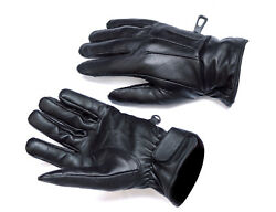 Mens Touch Screen Gloves Leather Thermal Lined Phone Texting Gloves $11.99