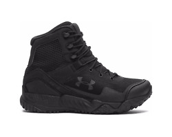 NEW Style Under Armour UA Women#x27;s Black VALSETZ RTS 1.5 Tactical Boots 3021037 $74.99