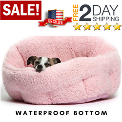 Self-Warming Cat and Dog Bed OrthoComfort Deep Dish Cuddler Machine Washable