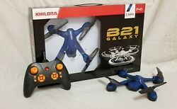 NEW 14quot; wind resistant OUTDOOR INDOOR AUTOMATIC FLYING DRONE REMOTE CONTROL TOY $29.95