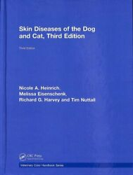Veterinary Color Handbook: Skin Diseases of the Dog and Cat Third Edition by...