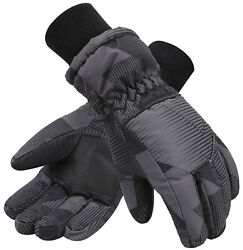 Winter Waterproof Thinsulate Boys Ski Snow Gloves Kids Sports Mittens New $15.96