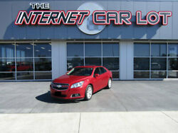 2013 Chevrolet Malibu 4dr Sedan LT w2LT 2013 Chevrolet Malibu Crystal Red Tintcoat with 107266 Miles available now!