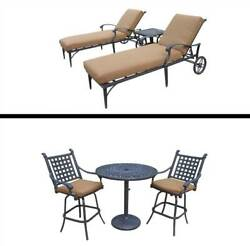 6-Pc Outdoor Bar and Lounge Set [ID 3684369]