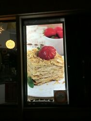 Large Promo Displays Light Boxes Ultra thin Led Promo Displays36x72 inches