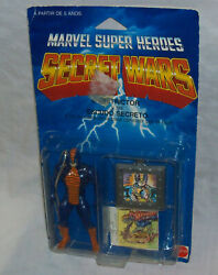 Sealed Marvel Secret Wars CONSTRICTOR Figure RARE EuropeForeign MOSC MATTEL