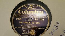 GUY MITCHELL WHY SHOULD I GO HOME & SHE WEARS RED FEATHERS COLUMBIA DB3238