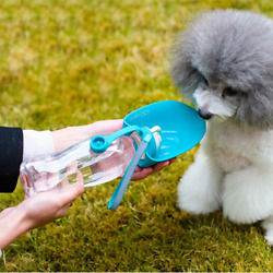 Portable Pet Travel Water Bottle Expandable Silicone Dog Water Bottle For Travel $14.99
