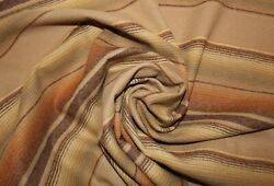 New PendletonTan Stripes Shirt Weight wool fabric by the yard