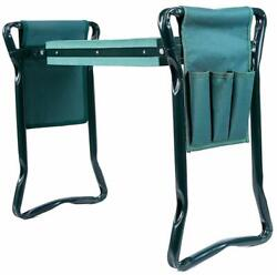 Ohuhu Garden Kneeler and Seat with 2 Bonus Tool Pouches, Сhair. Makes Work Easie $36.99