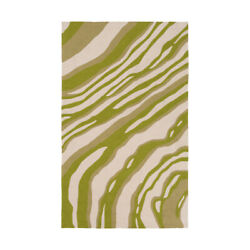 Surya CTY4048-810 Courtyard Outdoor Rug Green and Green