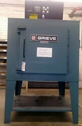 NICE! GRIEVE MODEL AA-650 ELECTRIC BATCH DRYING OVEN 24