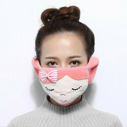 Lovely Earmuffs Crystal Velvet Space Cotton Material Winter Warming Supplies FA