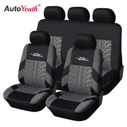 AUTOYOUTH Brand Embroidery Car Seat Covers Car Interior Design Seat Protector