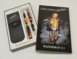 Rare! WATERMAN Coffret Collector LARA CROFT Tomb Raider FOUNTAIN PEN Set